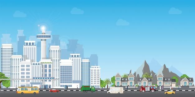 Cidade paisagem