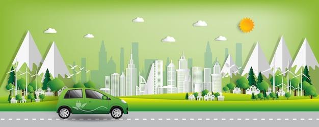 Cidade verde salva o mundo