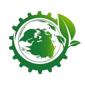 Cidades verdes ajudam o mundo com ideias de conceito ecologicamente corretas