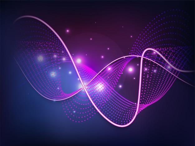 Ciência ou tecnologia conceito baseado abstrato.