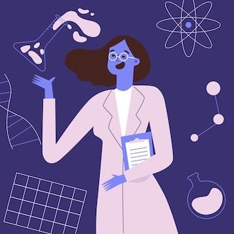 Cientista fêmea