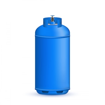 Cilindro de gás, tanque, balão, recipiente de propano.