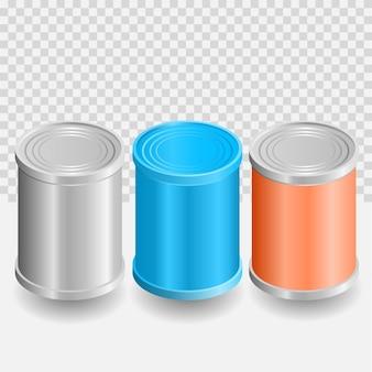 Cilindro pode renderizar ilustrador 3d