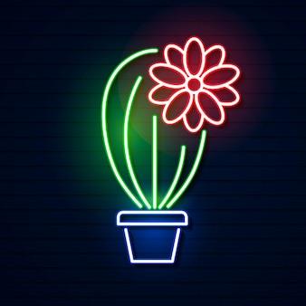 Cinco de maio. néon, luminoso, sinal