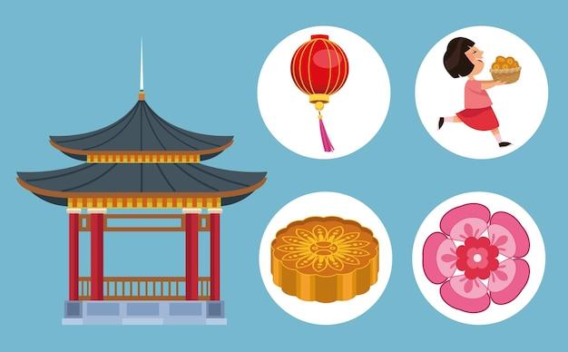 Cinco ícones de festivais de meados do outono