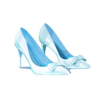 Cinderela sapato de vidro