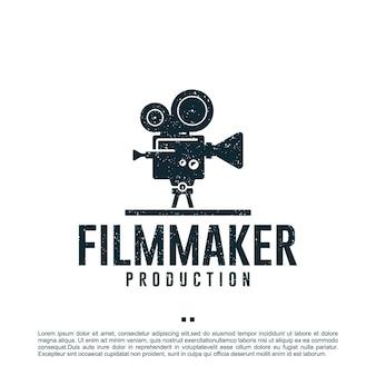 Cineasta, produção, modelo de design de logotipo