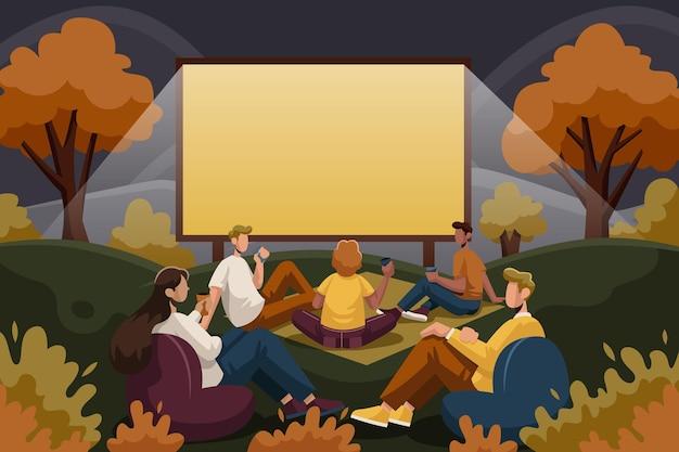 Cinema ao ar livre