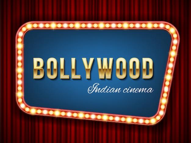 Cinema de bollywood, filme indiano, cinematografia.
