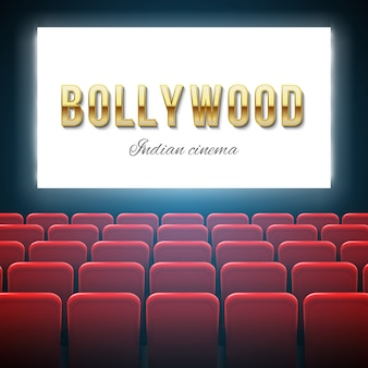 Cinema de bollywood, filme indiano, cinematografia.