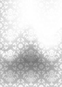 Cinza de fundo do ornamento, malha de gradiente