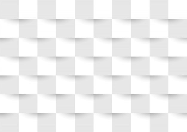 Cinza e branco geométrico sem costura de fundo