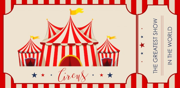 Circo, feira de diversões, modelo de tema de parque de diversões