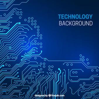 Circuito fundo tecnológico