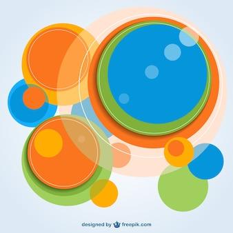 Círculo abstrato free vector