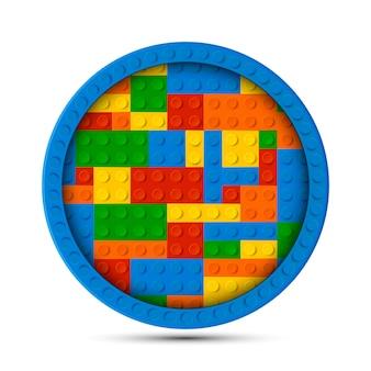 Círculo de legos