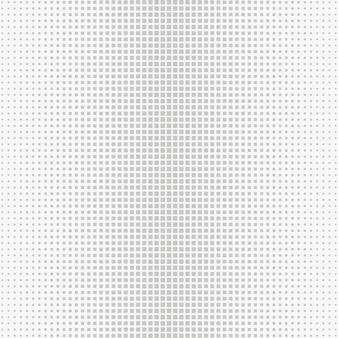 Círculo de meio-tom sem costura, pontos de fundo de vetor abstrato ou textura para design