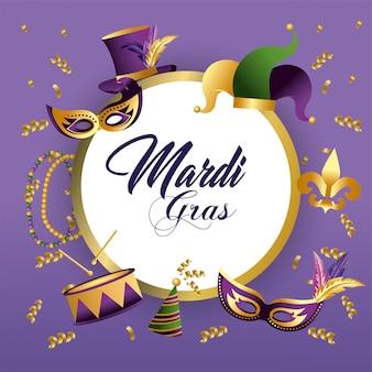 Círculo merdi grama emblema decoração