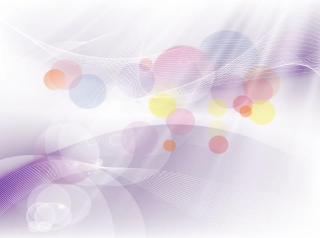 Círculos coloridos redemoinhos vetor de movimento