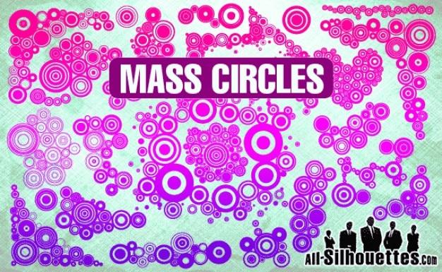 Círculos de massa
