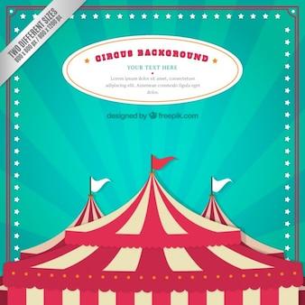 Circus tenda fundo
