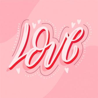 Citação com tema de amor