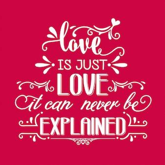 Citação de amor romântico