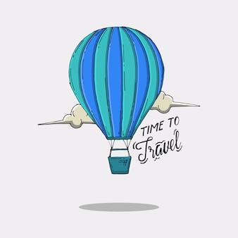 Citação de balão de ar
