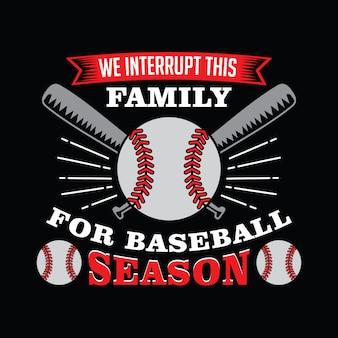 Citação de beisebol e dizendo