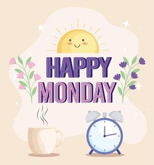 Citação de feliz segunda-feira