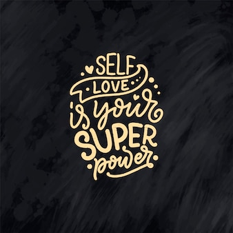 Citação de letras de autocuidado para blog ou venda. hora de algo agradável. beleza, cuidados com o corpo