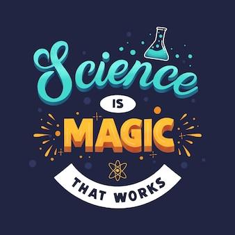 Citação de letras de ciência