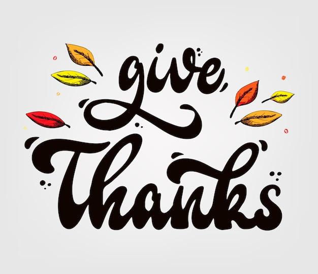 Citação de rotulação de agradecimentos