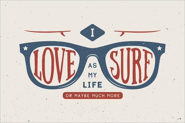 Citação de surf de verão