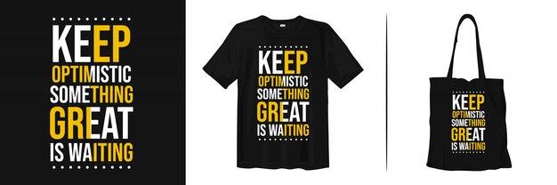 Citação motivacional para t-shirt e mercadoria