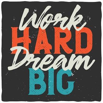 Citação motivacional. projeto de citação inspiradora.