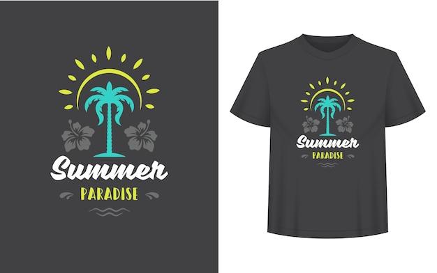 Citação ou ditado de verão podem ser usados para sobreposições de fotos de cartões comemorativos de camisetas