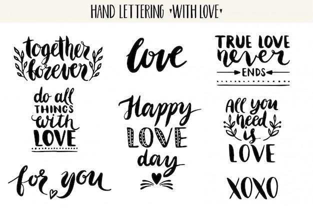 Citações. coleção de amor letras dos namorados.