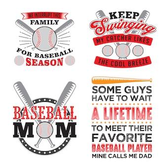 Citações de beisebol e dizendo set