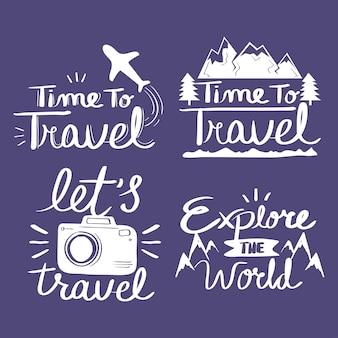 Citações de inspiração para viagens