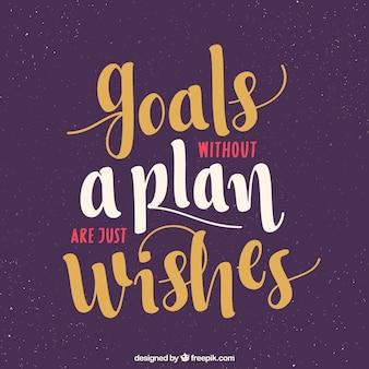 Citações inspiradores sobre metas