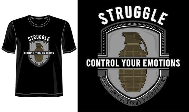 Citações t camiseta design gráfico vetorial