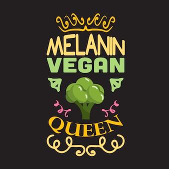 Citações vegan e dizendo bom para coleções de design