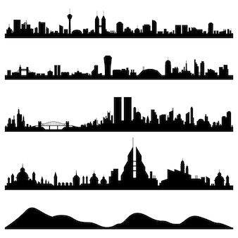 City skyline cityscape
