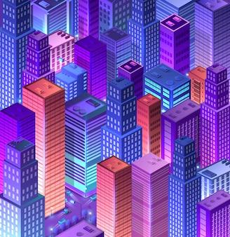 Cityscape 3d ultravioleta