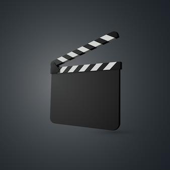 Claquete de filme.