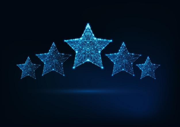 Classificação de cinco estrelas, serviço de luxo