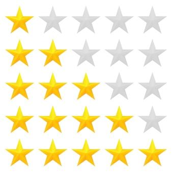 Classificação de cinco estrelas