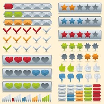 Classificação de conjunto de ícones