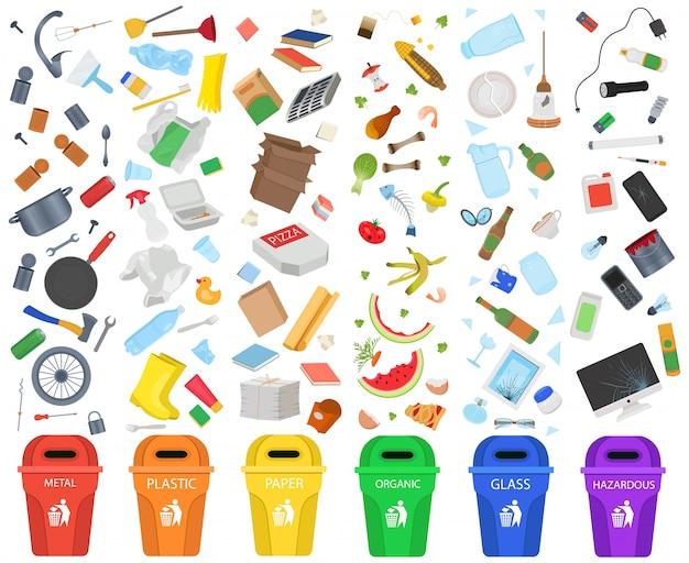 Classificação de lixo